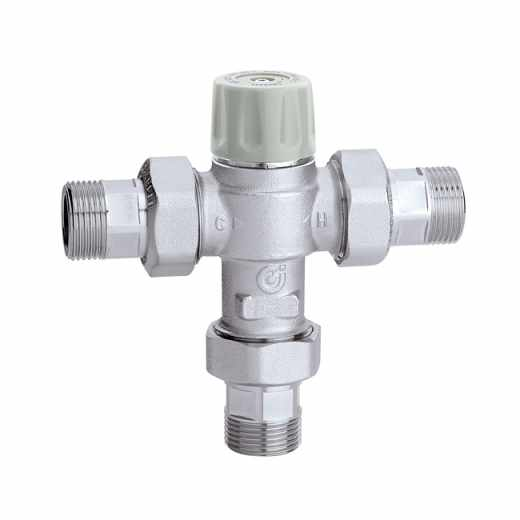 5217 - Termostatski mešni ventil sa nepovratnim ventilima i filterima