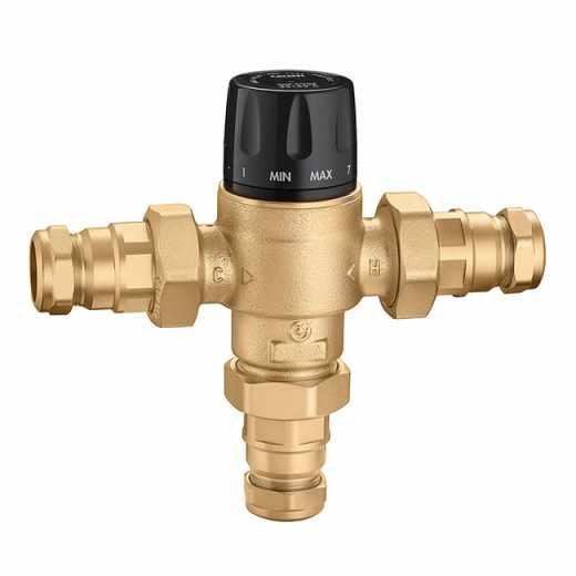 5231 - Termostatski mešni ventil, podesiv. Za centralne sisteme