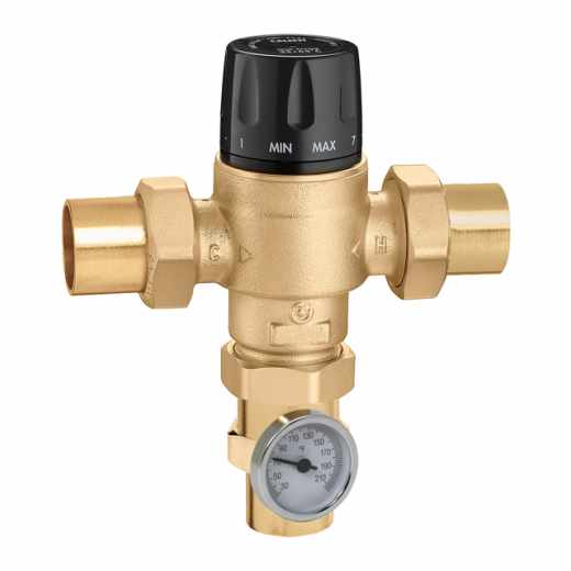 5231 - MixCal+™ High Flow Mixing Valve (sweat, with temperature gauge)