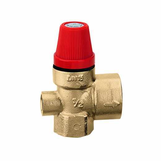 5322 - Sigurnosni ventil. Priključci Ž-Ž. Sa priključkom za manometar