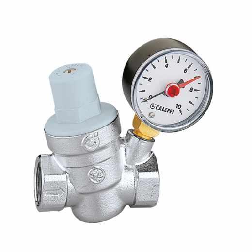 5332 - Poševni regulator tlaka, z manometrom