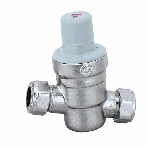 5336 - Inclined pressure reducing valve with compression ends