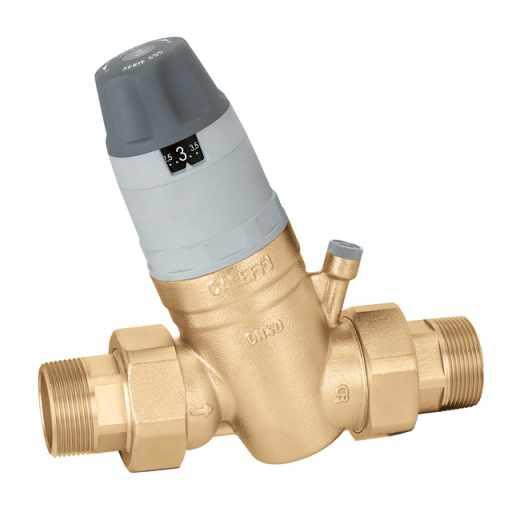 """5350 - Redutora de pressão com cartucho monobloco extraível. Com ligação manómetro. 1 1/4""""÷2"""""""