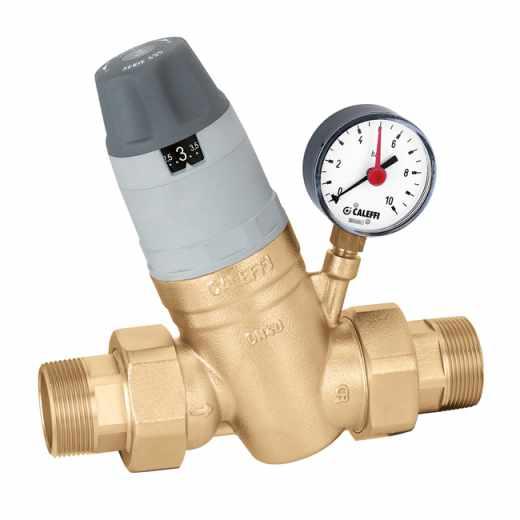 5350 - Reduktor tlaka s kompaktnim zamjenjivim uloškom, s manometrom