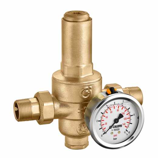 5360 - Riduttore di pressione di secondo stadio, con cartuccia estraibile. PN 40. Pressione di taratura a valle: da 0,5 a 6 bar