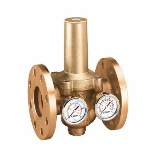 5366 - Redutora de pressão com cartucho extraível. Ligações flangeadas.