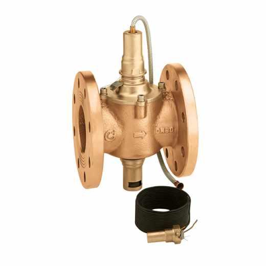 541 - Гориво спирателен вентил за употреба при високо налягане. Фланцова връзка