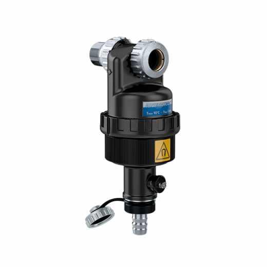 """5451 - DIRTMAGSLIM® - Dirt separator with magnet for under-boiler installation. 3/4"""" M - Ø 18 - 22"""