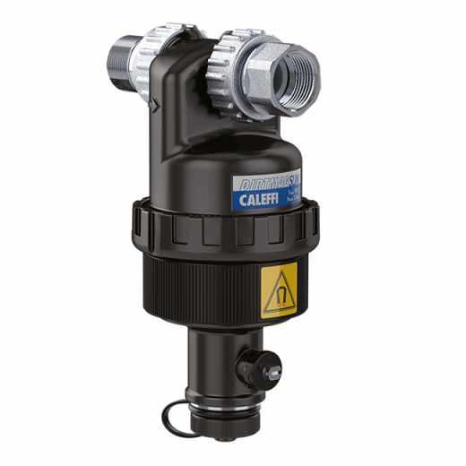"""5451 - DIRTMAGSLIM® - Separador de sujidade com íman para instalação sob a caldeira. 3/4"""" M x 3/4"""" F"""