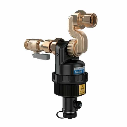 5452 - DIRTMAGSLIM® - Dirt separator with magnetfor under-boiler installation.