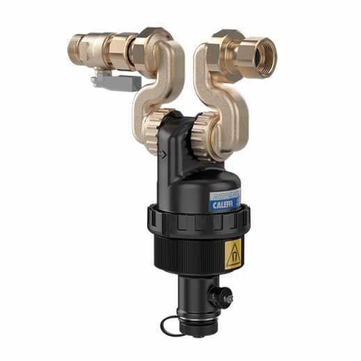 5454 - DIRTMAGSLIM® - Separador de sujidade com íman para instalação sob a caldeira. Para instalação com caldeiras Vaillant com ligações horizontais a novo suporte em linha.