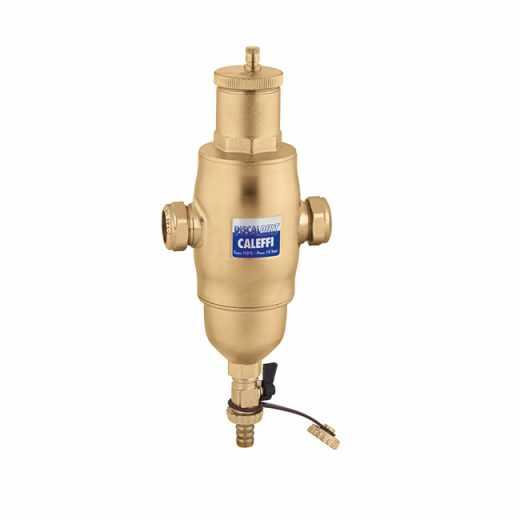 546 - DISCALDIRT® - Separador de micro-bolhas de ar e de sujidade. Ligações roscadas fêmea