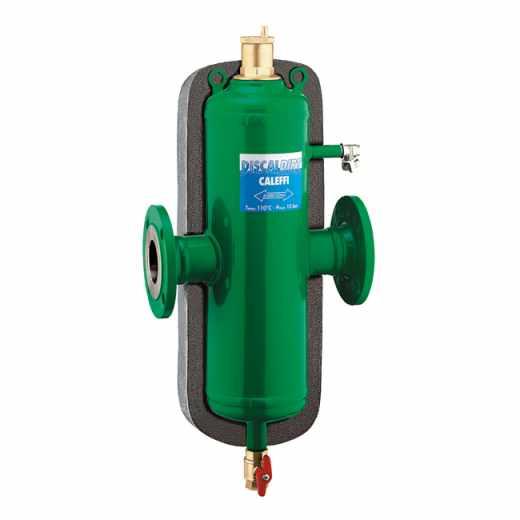 546 - DISCALDIRT® -  Odvzdušňovač - odlučovač, prírubové spojenia, s izoláciou