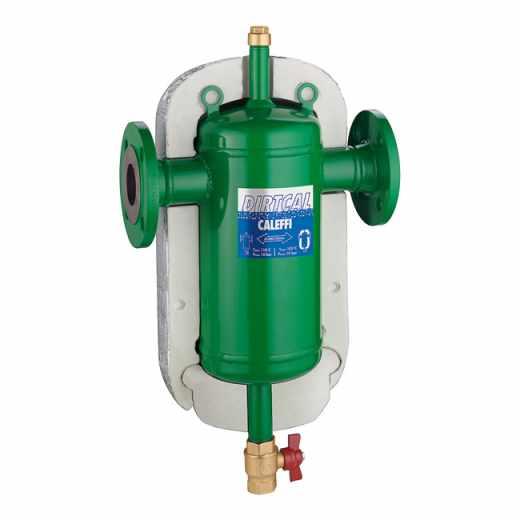 5465 - DIRTCAL® - Separador de sujidade. Ligações flangeadas. Com isolamento