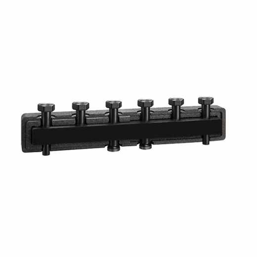 550 3 - Manifold for heating systems. Steel body. With pre-formed insulation