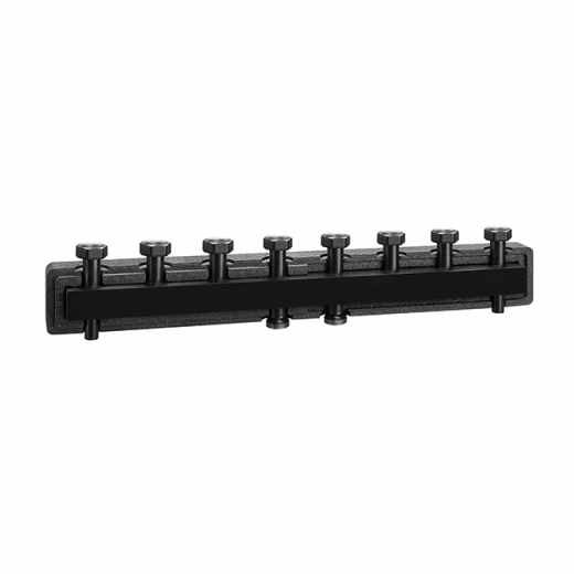 550 4 - Manifold for heating systems. Steel body. With pre-formed insulation