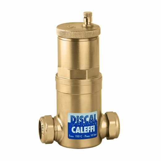 551 - DISCAL® - Separador de micro-bolhas de ar. Ligações roscadas fêmea