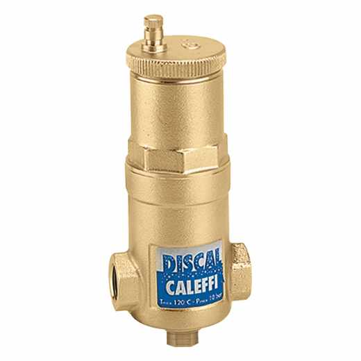 551 - DISCAL® Compact Air Separators (brass, with service check valve)