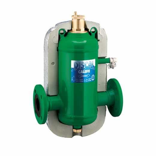 551 - DISCAL® - Separador de micro-bolhas de ar. Ligações flangeadas. Com isolamento