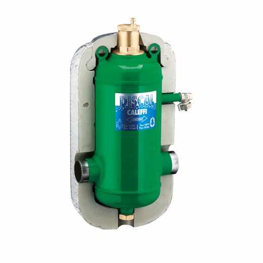 551 - DISCAL® - Separador de micro-bolhas de ar. Ligações para soldar. Com isolamento