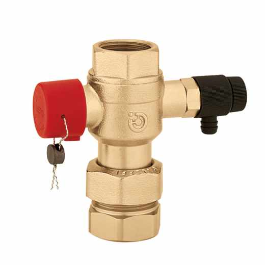 5580 - Ball shut-off valve, for expansion vessels