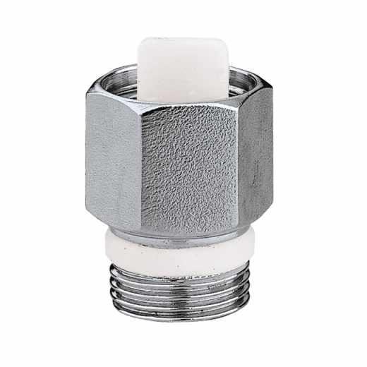 561 - Válvula de interceção automática para purgadores de ar série 5020 e 5022. Cromada