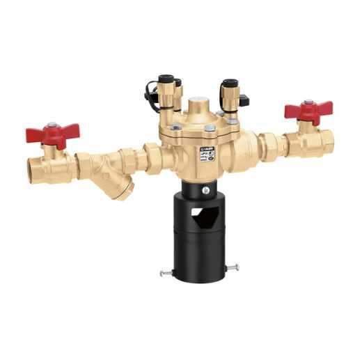 570 - Sklop, sestavljen iz: cevnega ločevalnika serije 574, filtra serije 577 in ročnih zapornih ventilov