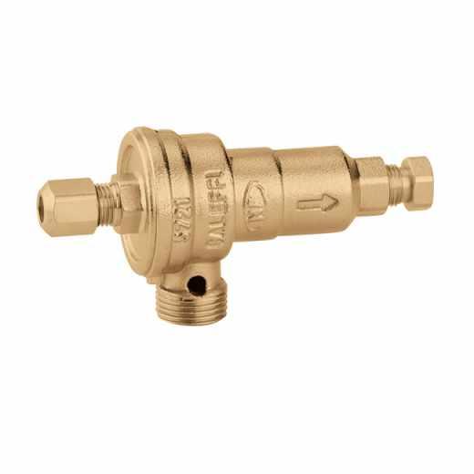 572 - Устройство без възможност за тестване за предотвратяване на обратен поток със зони с различно налягане за монтирани на стена котли