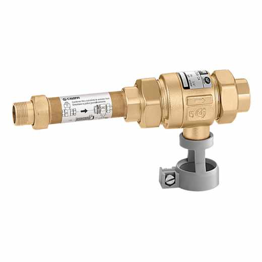 573 - Устройство без възможност за тестване за предотвратяване на обратен поток със зони с различно налягане, с демонтиращ се филтър