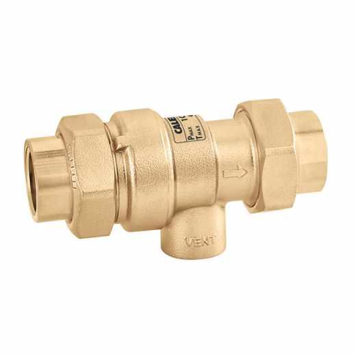573 - Desconector de zonas de pressões não controláveis. Com descarga roscada