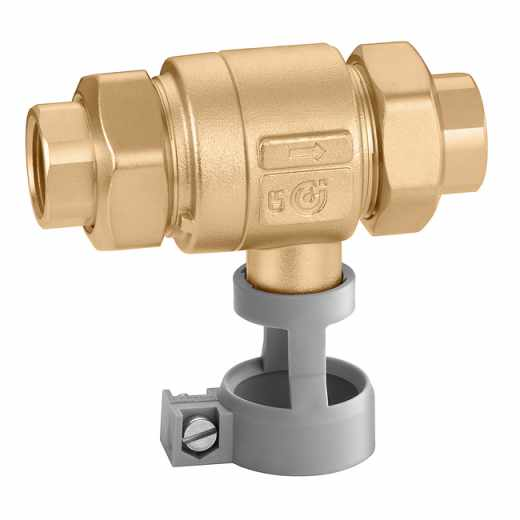 573 - Cevni ločevalnik s conami različnih tlakov