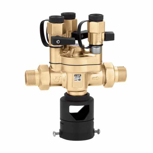 "574 - Controllable, reduced pressure zone backflow preventer. 1/2"". BA type"