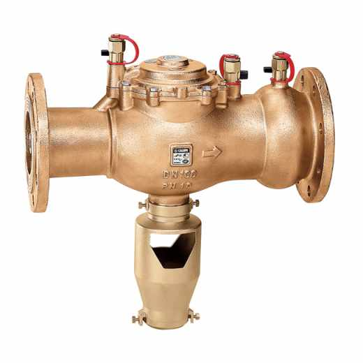 575 - Controllable, reduced pressure zone backflow preventer - DN 50 to DN 100 flanged connections. BA type