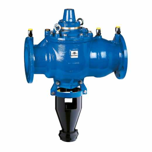 575 - Controllable, reduced pressure zone backflow preventer - DN 150 to DN 250. Flanged connections. BA type