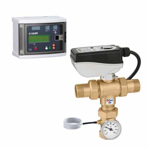 6000 - LEGIOMIX® - Misturadora eletrónica com desinfeção térmica programável e verificação de desinfeção. Ligações roscadas macho