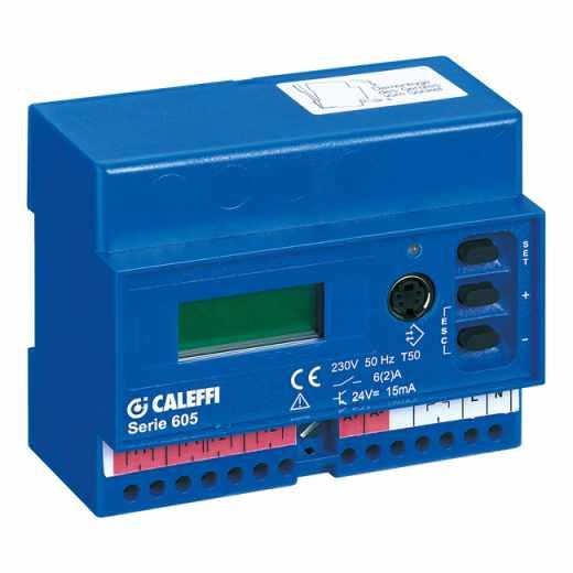 605 - Цифров блок за регулиране на температура и влажност за установяване на наличие на сняг или лед