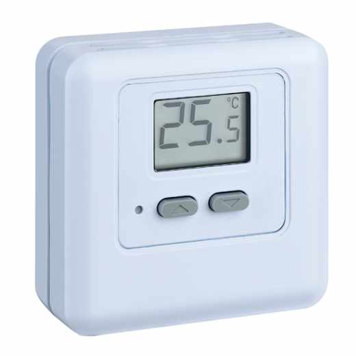 620 term stato ambiente digital com display caleffi portugal - Termostato ambiente digital ...