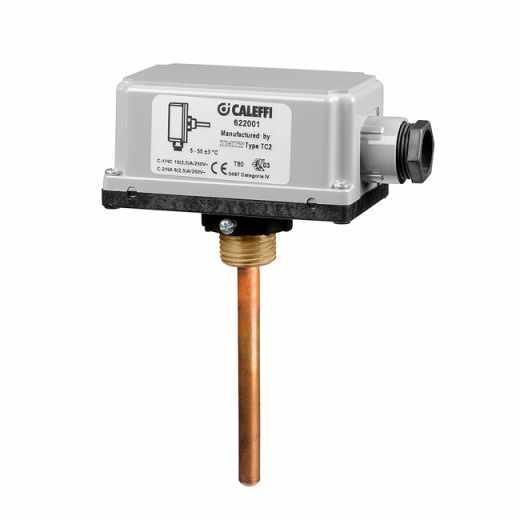 622 - Допълнителен предпазен термостат за системи за подово, лъчисто отопление
