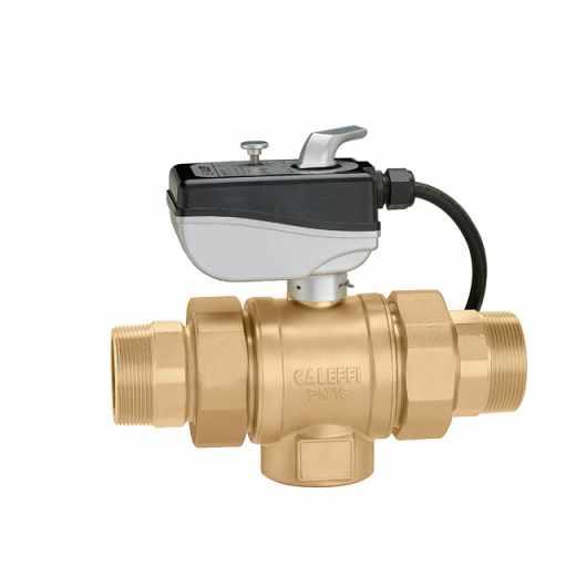 638 - Elektromotorni dvopotni kroglični ventil