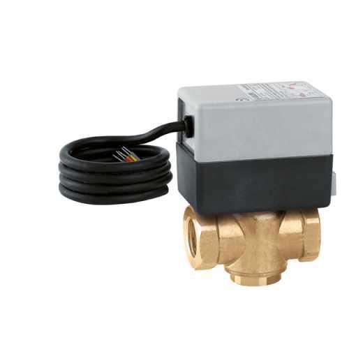 643 Z-ONE - Z-ONE™. Elektromotorni tropotni conski ventil