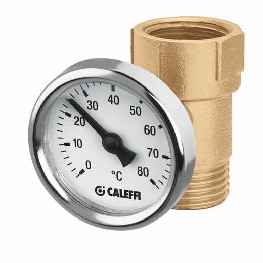 657 - Spojni priključek z vgrajenim termometrom
