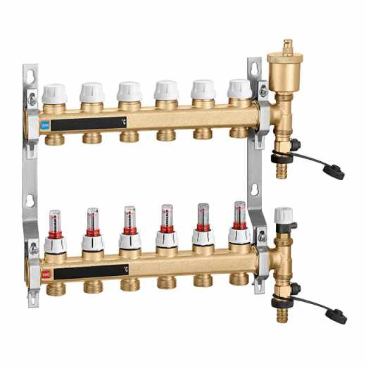 664 - Pre-assembled distribution manifold