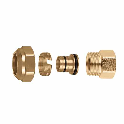 680 - DARCAL - Compression ends fitting for multilayer pipe