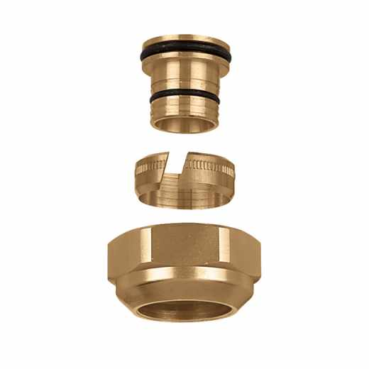 680 - DARCAL - Self-adjustable diameter fitting for plastic pipes. 1""