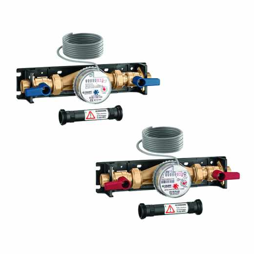 7000 - Domestic water meter kit for user module 7000, 7001, 7002