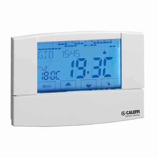 738 - Digitalni tedenski sobni termostat z zaslonom na dotik
