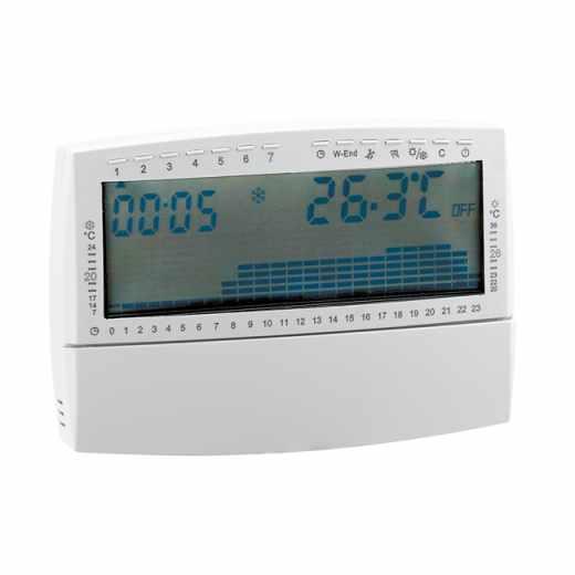 739 - Cronotermóstato ambiente digital com alimentação a pilhas