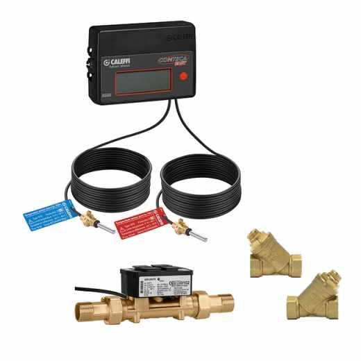 7507 - CONTECA EASY ULTRA - Ultrasonic direct heat meter for user modules 796, 799, 7900 series