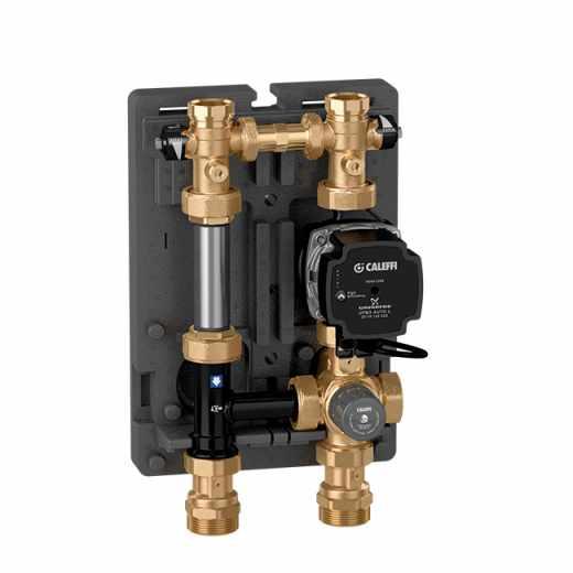 766 - Gruppo di regolazione termostatica per impianti di riscaldamento.
