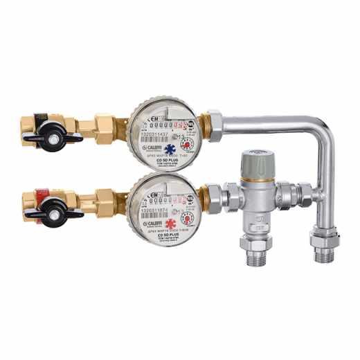 7930 - Stacco acqua sanitaria con miscelatore
